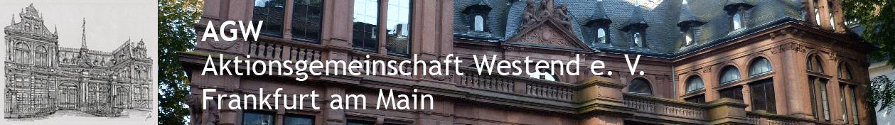 AGW Aktionsgemeinschaft Westend e.V. Frankfurt am Main
